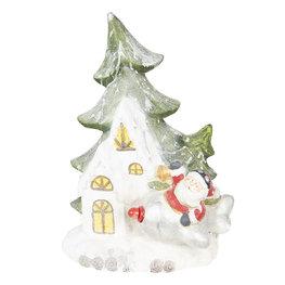 Kerstman bij boom 49*20*55 cm Multi | 6CE0994 | Clayre & Eef
