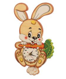 Houten muurklok konijn | Bartolucci