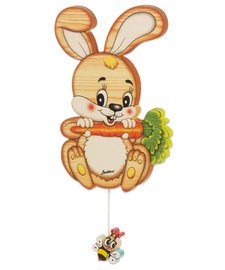 Muziekdoos konijn klein | Bartolucci | Hout