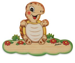 Magneetbord schildpad 18,5 x 13 cm| Bartolucci | Hout