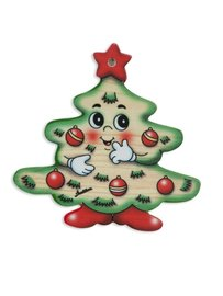 Kerstboomhanger kerstboom | Bartolucci | Hout