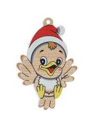 Kerstboomhanger vogel | Bartolucci | Hout