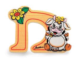 Alfabet letter hout groot D | Bartolucci