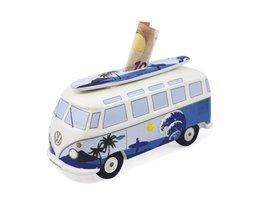 Spaarpot blauw surf VW Volkswagen T1 | Brisa