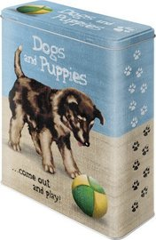 Dogs and puppies 3d come out and play blik XL | Nostalgic Art