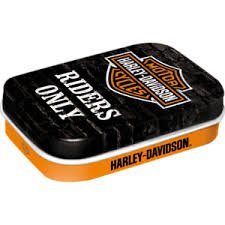 Mint box Harley Davidson - Riders Only | Nostalgic Art
