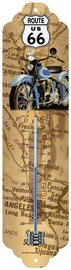 Thermometer Route 66 map   Nostalgic Art