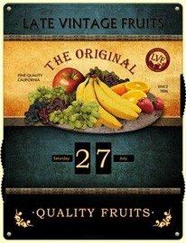 Kalender The original- Late vintage fruit | Nostalgic Art