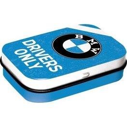 Mint box BMW Logo blauw - Drivers Only | Nostalgic Art