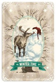 Wandbord metaal Winter Time | Nostalgic Art
