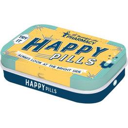 Mint box Happy pills   Nostalgic Art