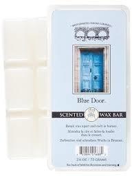 Blue door wax bar | Bridgewater