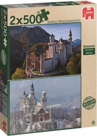 Then and now Seasons Puzzel 2x500 Stukjes