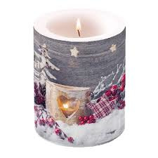 Kaars birch candlelight  | Ambiente