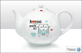 Keramieken theepot home is where you park it | Brisa