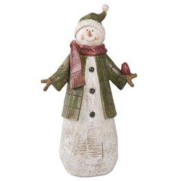 Sneeuwman / pop | 6PR2227 | Winter & Kerst | Clayre & Eef