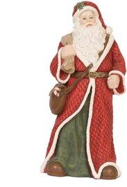 Beeld kerstman 26 x 15 cm | 6PR0564 | Kerst | Winter | Clayre & Eef