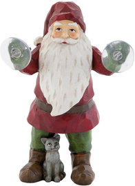 Kerstman met poes & zuignap | 6PR0665 | Winter & Kerst | Clayre & Eef