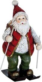 Kerstman op ski | 6PR0816 | Clayre & Eef