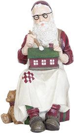 Werkende kerstman klein | 6PR0965 | Winter & Kerst | Clayre & Eef