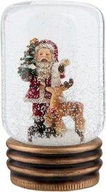 Sneeuwbol kerstman 9 x 14 cm | 63788 | Winter & Kerst | Clayre & Eef