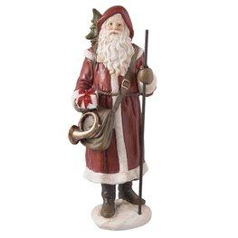 Kerstman met cadeau in handen | 6PR2237 | Clayre & Eef