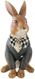 Decoratie beeld konijn   6PR2209   Clayre & Eef   Pasen
