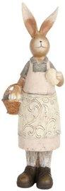 Decoratie konijn 30 x 9 cm   62702   Clayre & Eef