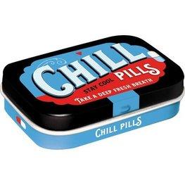 Mint box Chill pills   Nostalgic Art