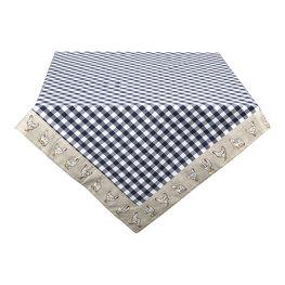 Tafelkleed 150*150 cm Blauw | LCH15BL | Clayre & Eef