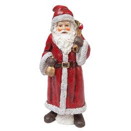 Kerstman 7*7*18 cm Rood | 6PR1228 | Clayre & Eef