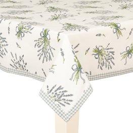 Tafelkleed 100*100 cm Licht aubergine | BDL01 | Clayre & Eef