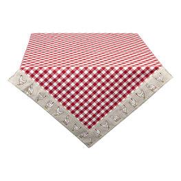 Tafelkleed 150*250 cm Rood | LCH05R | Clayre & Eef