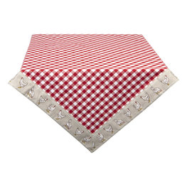 Tafelkleed 150*150 cm Rood | LCH15R | Clayre & Eef