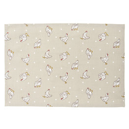 Placemat (6) 48*33 cm Natuur | LCH40N | Clayre & Eef
