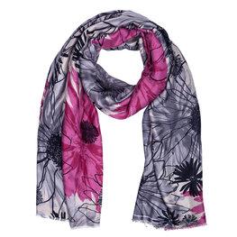 Sjaal 88*180 cm Pink | JZSC0421P | Clayre & Eef