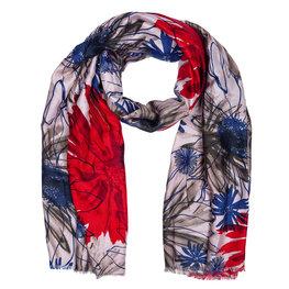 Sjaal 88*180 cm Rood | JZSC0421R | Clayre & Eef