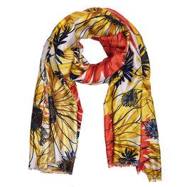 Sjaal 88*180 cm Geel | JZSC0421Y | Clayre & Eef