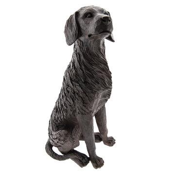Hond zittend 20*15*40 cm Bruin | 6PR2324 | Clayre & Eef