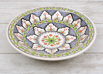 Salade schaal Azis Ø 30 cm   SOR.AZ.30   Dishes & Deco