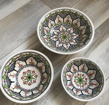 Salade set 3 delig Azis   AZ.SK.3D   Dishes & Deco