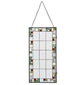 Glaspaneel Tiffany 40*1*80 cm Multi | 5LL-5914 | Clayre & Eef