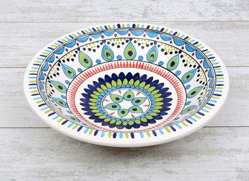 Salade schaal Pavo pauw Ø 35 cm | SOR.PA.35 | Dishes & Deco
