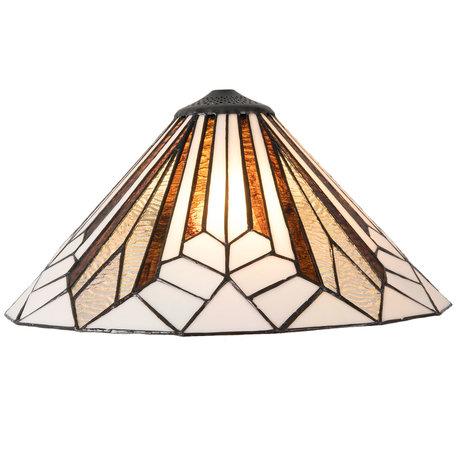 Lampenkap Tiffany ø 40*20 cm Meerkleurig | 5LL-5897 | Clayre & Eef