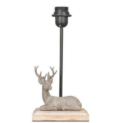 Lampenvoet 16*13*35 cm E27/max 1*60W Bruin | 6LMP259 | Clayre & Eef