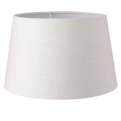 Lampenkap ø 25*16 cm / E27 Wit   6LAK0433   Clayre & Eef