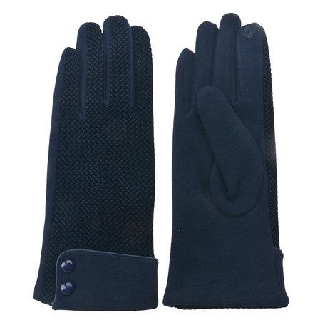 Handschoenen 8*24 cm Blauw | MLGL0022BL | Clayre & Eef