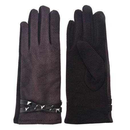 Handschoenen 8*24 cm Bruin | MLGL0023CH | Clayre & Eef
