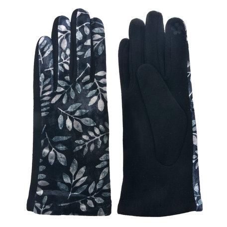 Handschoenen 8*24 cm Zwart | MLGL0024 | Clayre & Eef