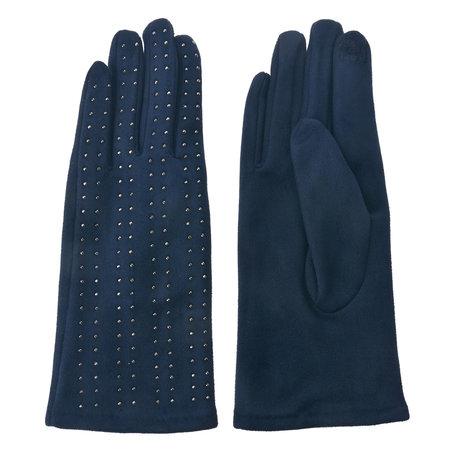 Handschoenen 8*24 cm Blauw | MLGL0038BL | Clayre & Eef